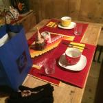 La sala colazione.