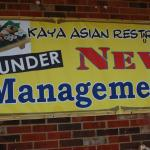 WE ARE UNDER NEW MANAGEMENT NOW