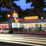 The Chickenburger has remained a family destination for 75 years.