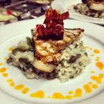 Swordfish and Citrus Risotto
