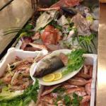 La vetrina del pesce fresco pescato :)