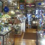 step inside Art & Glassworks and be greeted by this