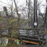 The Swinging Bridge in Townsend.