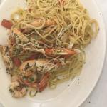 Spaghetti Crayfish and prawn pasta... So good and fresh!