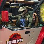 Raleigh Comic Con Jurassic Park Booth!