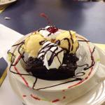 BEST brownie sundae EVER :)