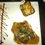 Lamb fillet and calves kidneys