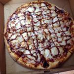 Bbq ckn pizza