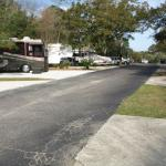 Paved roads to Campsites