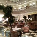Lobby y desayuno en salones