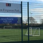 Alex Ferguson Park next to hotel