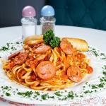 Linguini Sausage