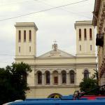 La iglesia luterana.
