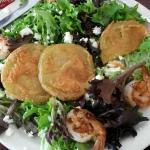 Fried green tomato salad