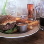 Burger, beers and views!