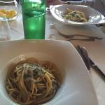 Spaghetti di gragnano con la neonata!!!!uno spettacolo di sapori