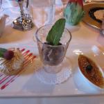 Dessert Trio - Lemon Tart, Mousse, Creme Brulee