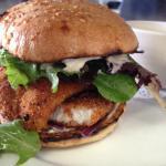 Panko Breaded Fish Burger