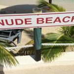 Nude Beach Area