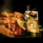 Seafood sharing board