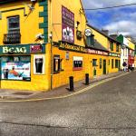 Colorful Dingle town
