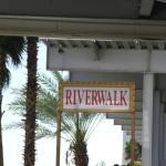 Outside Riverside Resort
