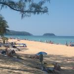 Karon Beach. Five minutes walk