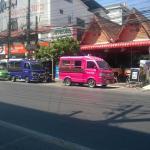 Tuk tuk's, restaurant's, bars and shops in the area