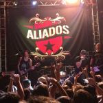 Show da banda aliados