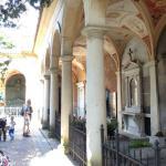 Vacker kyrkogård