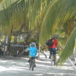 complimentary bikes for use of entire stay on the island