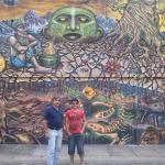 Hermoso y enorme mural ubicado en el Boulevard de Sabana Grande