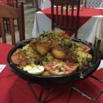 Bacalhau com arroz de Braga