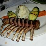 lamb chops $42 oh you want it blackend  $2 more on the bill ??