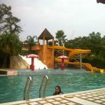 Mini water theme park