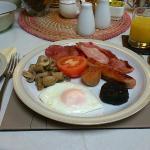 Wonderful irish breakfast!!!!!