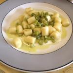 Gnocchi con salsa al parmigiano! Squisiti