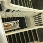 Las escaleras eran muy lindas