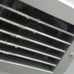 Grata del ventilatore in bagno