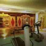 Das Beste überhaupt Fitnessecke vorm Ruheraum