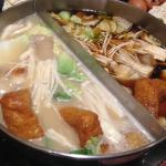 Two types of broth of your choice