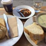 Florentine, special sandwich and soup