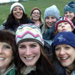 Yurting hen party!