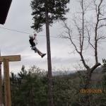 My grandson's first zip-line experience! He loved it!