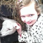 Kaitlin at Clonfert farm