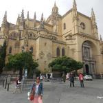 O exterior da Catedral de Segóvia