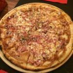 pizza barbacoa - muy rica