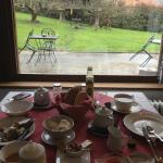 Vistas desde el comedor (desayuno)