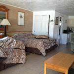 Two double beds, ample closed and drawer space and good size washroom.