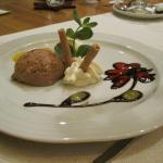 Dessertkunstwerk